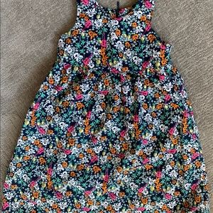 Lands end Hawaii Flower pineapple & ukulele dress
